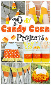 Diy Crafts Halloween by 20 Diy Candy Corn Projects This Worthey Life