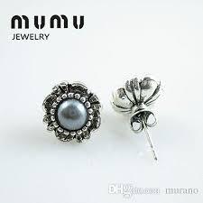 cheap stud earrings fashion jewelry cheap stud earrings silver plated women s pearl