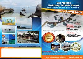 contoh desain brosur hotel contoh brosur hotel yang informatif