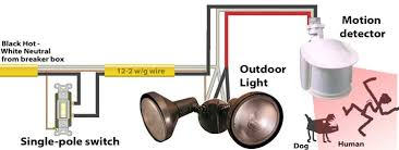 motion detector light wiring free sample sensor best of diagram