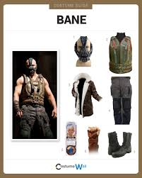 bane costume dress like bane costume and guides