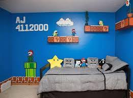 incroyable decoration de chambre sur le theme mario bros papa