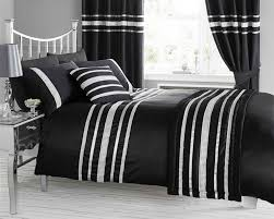 black u0026 silver diamante bling bedding and or curtains and or