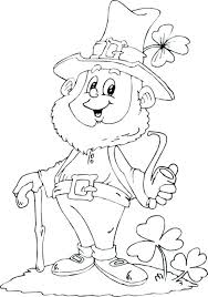 leprechaun coloring pages printable free leprechaun coloring pages to print whereisbison com