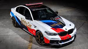 bmw m5 slammed bmw reveals 2018 m5 motogp safety car iol motoring