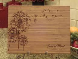 personalize cutting board best 25 engraved wedding presents ideas on parents