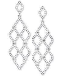 6 Beautiful Chandelier Earrings You Swarovski Crystal Earrings Shop Swarovski Crystal Earrings Macy U0027s