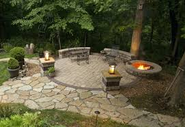 Stone Patio With Fire Pit Patio Ideas Fire Pit Patio Design Ideas Fire Pit Patio Photos