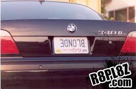 Fun Vanity Plate Ideas License Plate Fail Photos Sheena U0027s Blog