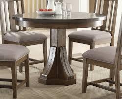 willowbrook craftsman ash bluestone laminate top round dining