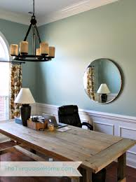 how to hang a heavy light fixture from the ceiling how to hang a heavy mirror and office updates the turquoise home