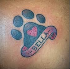 the 25 best dog memorial tattoos ideas on pinterest pet tattoos