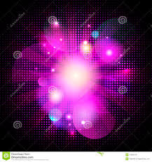 glamour pink pop art bokeh background with dots royalty free