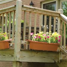living room amazing deck rail planter boxes planters for railings