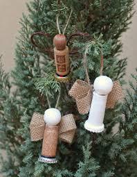 make cork angel ornaments morena u0027s corner