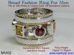 custom rings for men fashion ring custom fashion rings for men with gem stones
