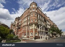 grand victorian mansions kensington london uk stock photo 84852751