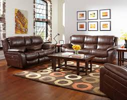 Leather Reclining Sofa Set by Catnapper Beckett Reclining Sofa Set Java Cn 4511 Sofa Set Java