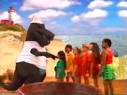 The Backyard Show Book Barney by A Day At The Beach Barney Wiki Fandom Powered By Wikia