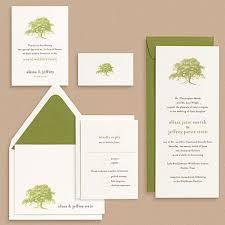 oak tree wedding invitations invitation crush