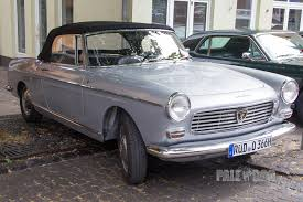 peugeot 404 coupe 1966 peugeot 404 cabriolet front view 1960s paledog photo