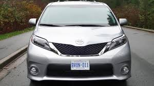 2015 toyota sienna se test drive review
