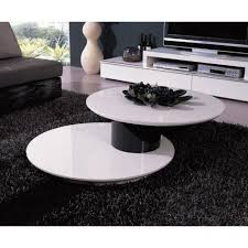 White Modern Coffee Tables by