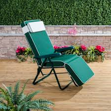 Relaxer Chair Garden Relaxer Chair With Luxury Cushion Alfresia