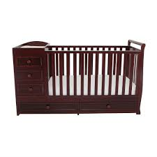 Foundations Mini Crib Mini Cribs Mini Crib With Changing Table Black Mini Crib