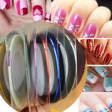 aliexpresscom buy 30 colors rolls striping tape line nail art gel