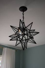 Pottery Barn Fixtures by Ideas Star Light Fixture Pottery Barn Moravian Star Chandelier