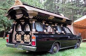 hearse for sale japanese hearses are like temples on wheels ebay motors