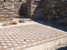 Mosaic Floor L File Delos Cubic Floor Mosaic Jpg Wikimedia Commons