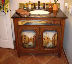 liz talavera tile in a vanity backsplash mexican home decor