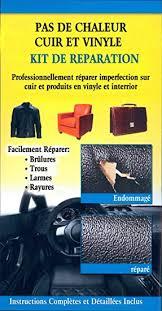 réparateur de canapé pas de chaleur cuir et vinyle kit de reparation amazon fr