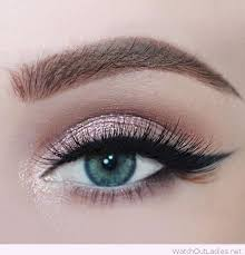 rose glitter for blue green eyes eyebrow makeup tips