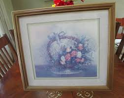home interiors and gifts framed carl valente etsy