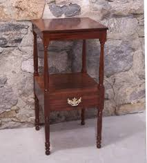 early american sheraton mahogany night stand c1820 item 7152