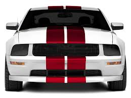 stripes on mustang graphics mustang gt500 style stripes 10 in