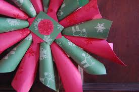 christmas paper craft ideas for kids ne wall