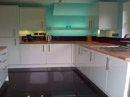 High Gloss Black Kitchen Cabinets Kitchens With High Gloss Floor Tiles High Gloss White Kitchen
