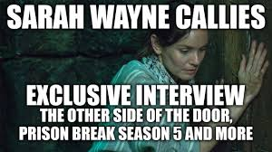 Prison Break Memes - sarah wayne callies on prison break season 5 and the other side of