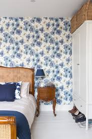 victorian wallpaper rolls with eclectic london and cherry wall clocks
