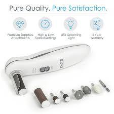 amazon com pure enrichment 8 in 1 manicure and pedicure kit