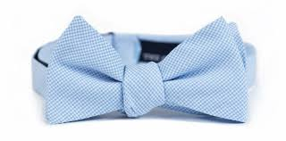 chucky mullins bow tie powder blue the good south