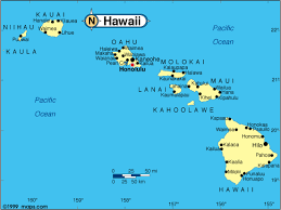 map of hawaii cities hawaii base and elevation maps travelquaz