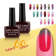 gel len chameleon temperature change nail color uv gel nail polish