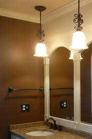 best images about bathroom lighting ideas pinterest bathroom light fixture and frame mirror