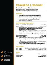 modern resume exles modern resume exle black and orange resume template exle of