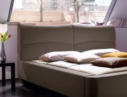 Schlafzimmer Komplett Cappuccino Polsterbett Cloude Bett 160x200 Cm Stoffbezug Cappuccino